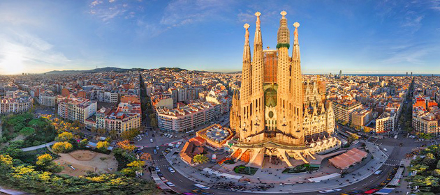 Barcelona-pano
