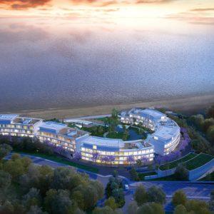 Новый жилой комплекс на первой линии моря