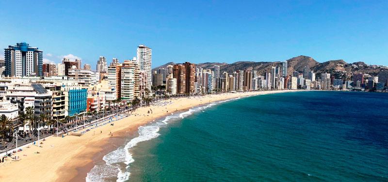 Первая линия моря Испания