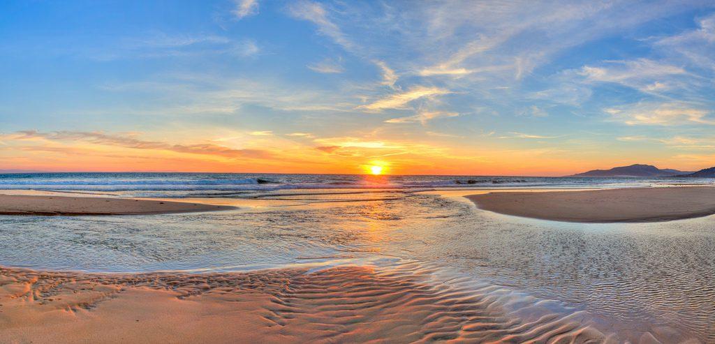 Пляж в Испании на Коста дель Соль