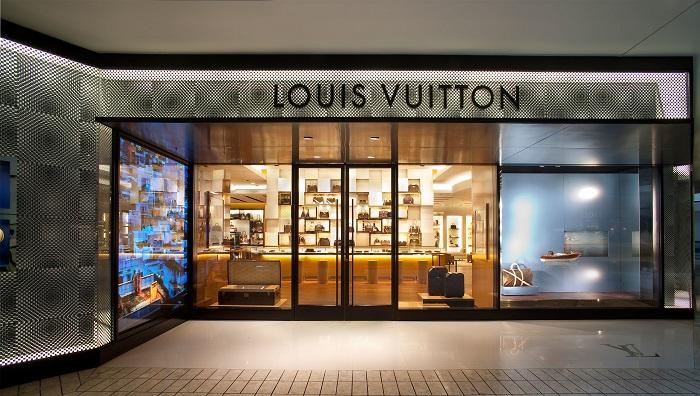 Магазин Louis Vuitton в Пуэрто Банус в Испании