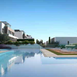 Смежные дома в Испании