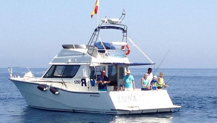 Аренда рыбацкого катера в Испании