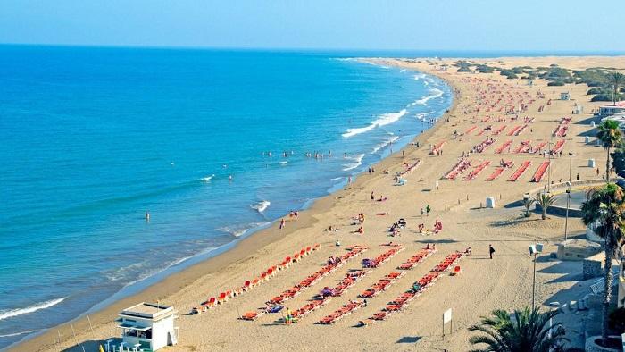 Пляж Playa-del-Ingles
