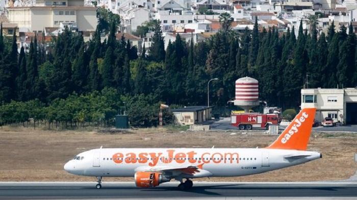 Easyjet в Малаге