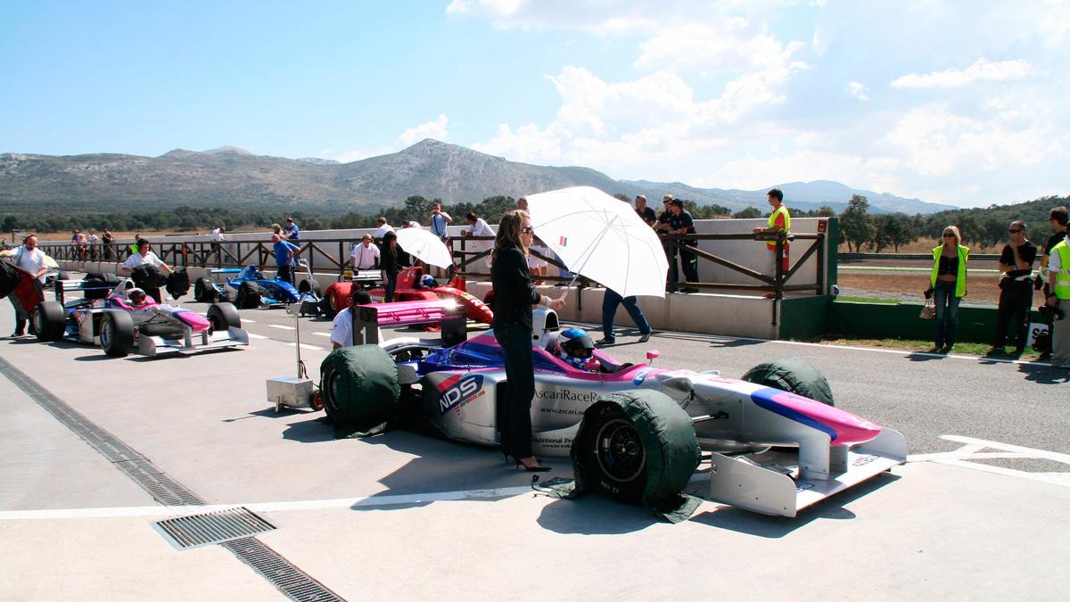 Аскари гоночный курорт в Испании