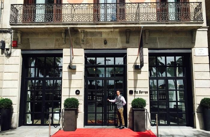 Hotel Serras в Барселоне