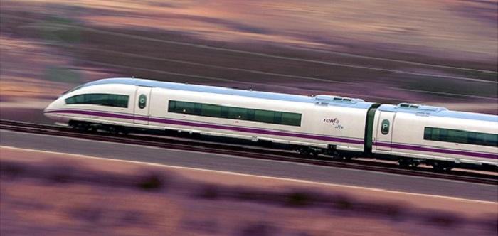 Поезд Renfe в Испании