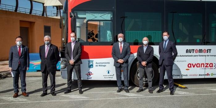 Автобус без водителя в Малаге