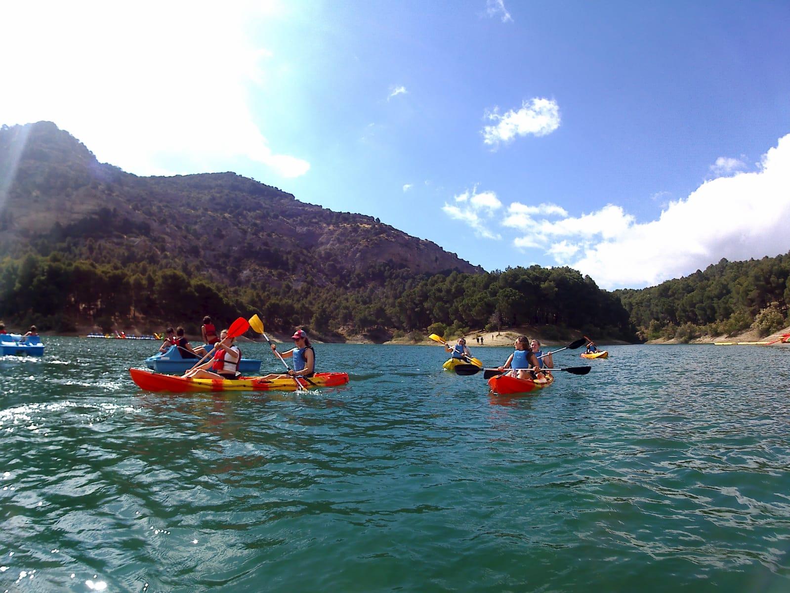 озера Эль Чорро в Марбелье