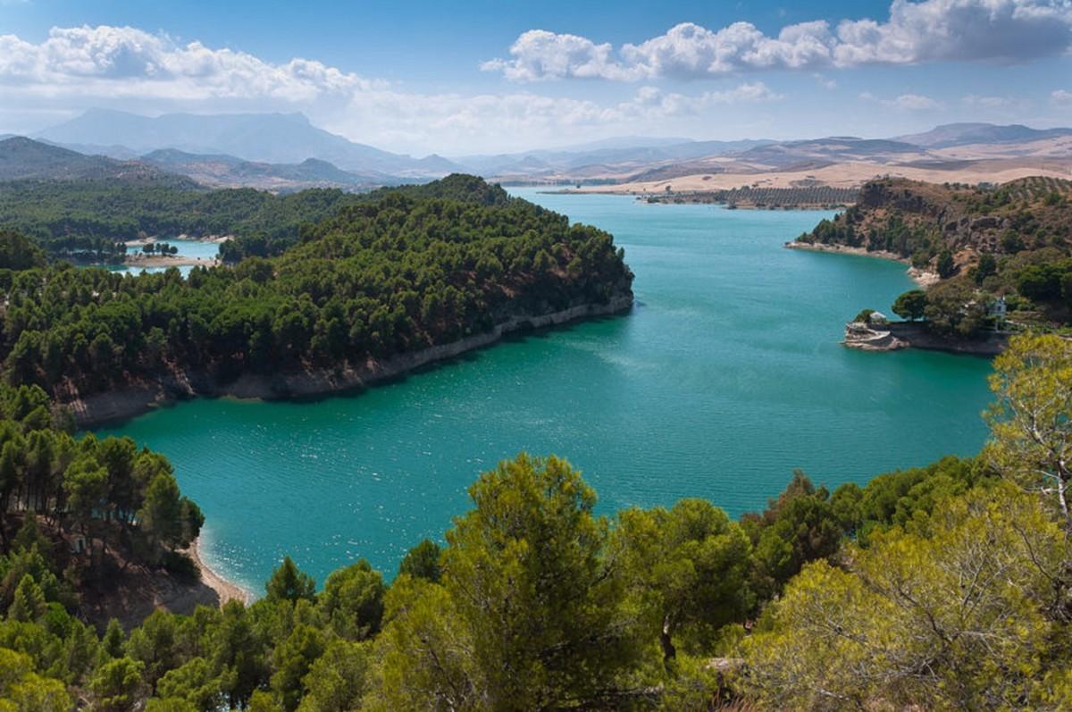 Озера эль Чорро рядом с Марбельей