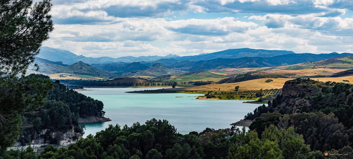 пейзаж озер Эль Чорро