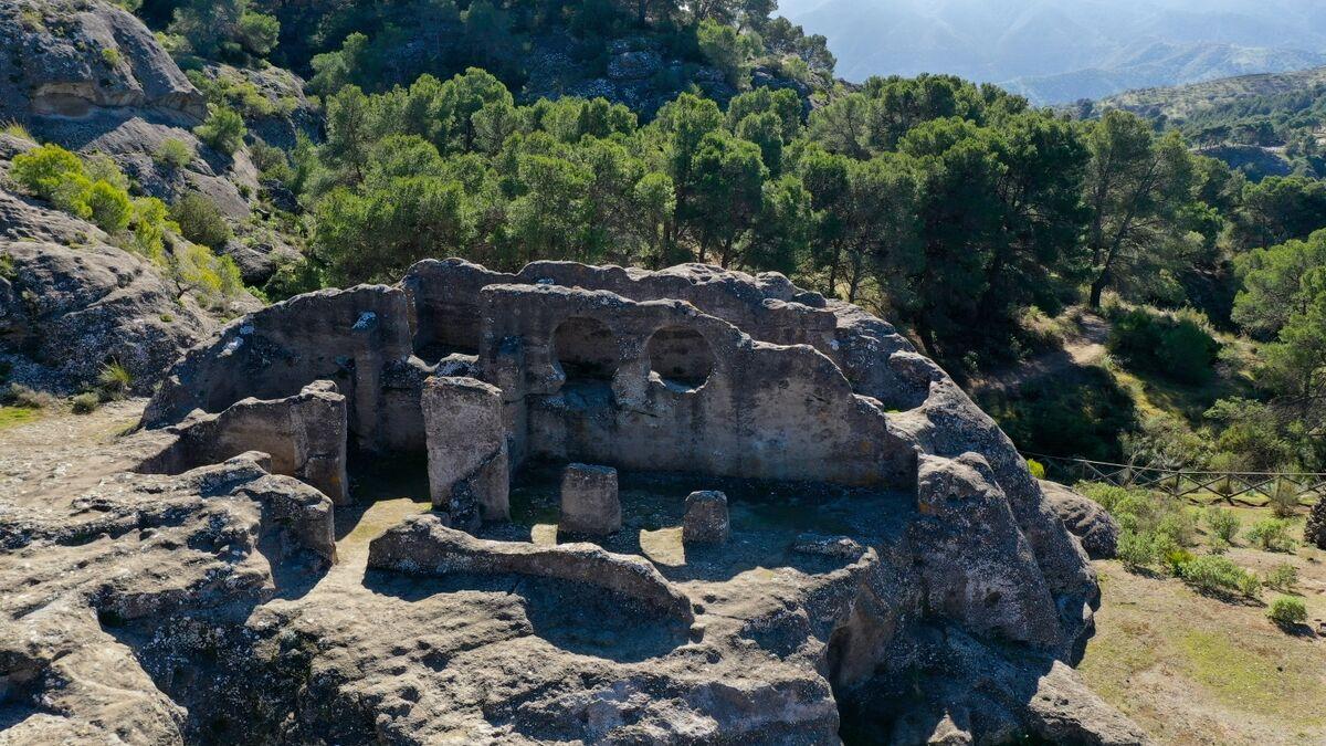 Руины Бобастро в Эль Чорро