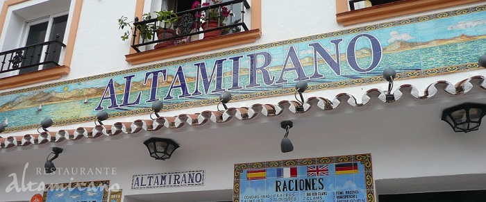 Рыбный ресторан Altamirano